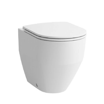 822952 - Laufen Pro Floorstanding Back-to-Wall WC / Toilet Pan For Concealed Cistern - 8.2295.2